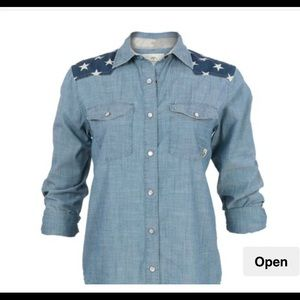 Commander Life Whistle Chambray Shirt NEW!